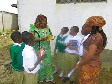 Experiential Learning with Form one Students Sept 2014