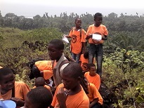 Field trip to Mount Cameroon