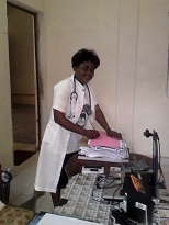 School nurse keeps the health records for all students